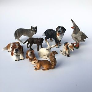 Schleich Animal Assortment of 9